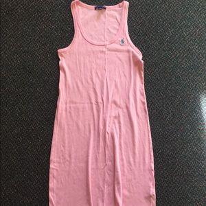 Pink Ralph Lauren Tank Dress L